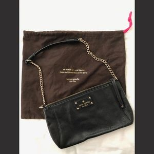 Kate Spade Small Shoulder Bag/Clutch with Dust Bag